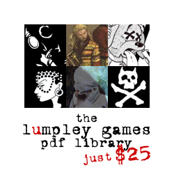 the lumpley games pdf library - $25