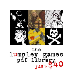 the lumpley games pdf library - $40